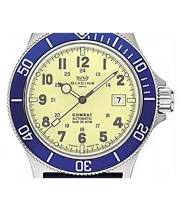 GLYCINE COMBAT BLUE & YELLOW (LNIB)