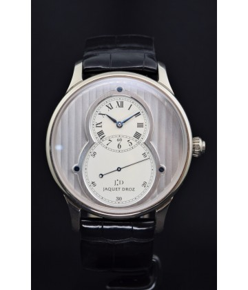 Jaquet Droz Grande Seconde circled white gold, watch only.