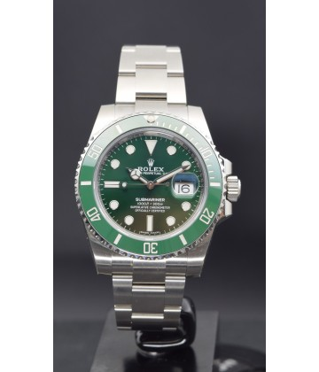 "(NOS) Rolex Submariner ""Green Hulk"" 116610 LV"