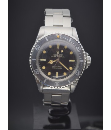 Rolex  Vintage Submariner Meter first gilt dial 5513