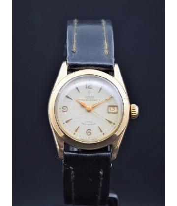 Tudor Oysterdate 31, 9K rose gold, watch only